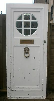Antique Front Door / Stained Glass