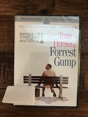 """""""FORREST GUMP"""" (2-Disc Set) DVD Movie, Special Collector's Edition, NEW! SEALED!"""