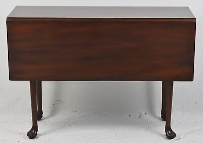 KITTINGER Colonial Williamsburg Mahogany Drop Leaf Table WA-1022