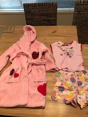 Peter AlexanderBNWT Pjs Set And Dressing Gown Size 2 Girls