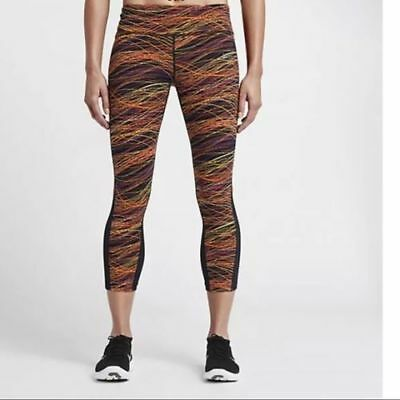 4f24e48c99bec NWT NIKE DRI-FIT WOMENS POWER EPIC LUX RUNNING YOGA TIGHTS XS sty799790 010  $105