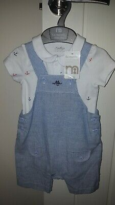 boys mothercare sailor outfit size 3-6 months BNWT