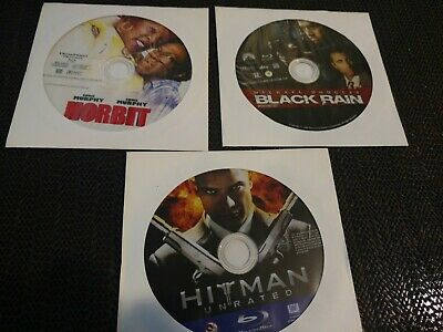 Lot Of 3 Blu-ray Discs In Paper Sleeves