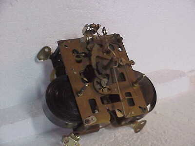 Vintage Crown Foreign ? 8 or 31 Day ? T& S Clock Movement parts repair G