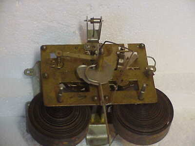 Vintage East West Plate Korean 31 Day Clock Movement parts repair C
