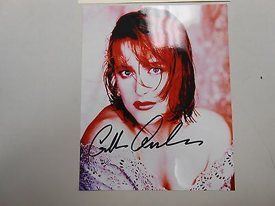 Rare and early SIGNED Gillian Anderson 8 x 10 photo with COA! Scully X-Files!