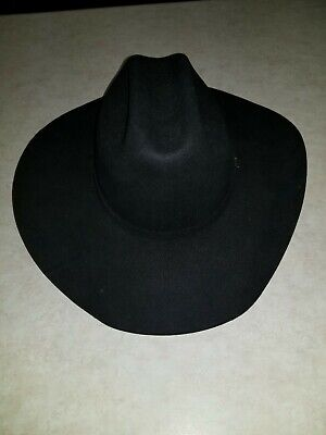 18d8c44730834 Stetson Regalia Hat 4X Beaver Black Size 7 1 8 No Box preowned