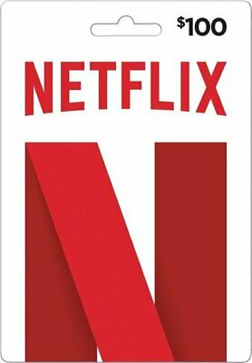 Netflix Gift Card $100 (INSTANT DELIVERY) *Great Feeback*  !!!CHEAP!!!