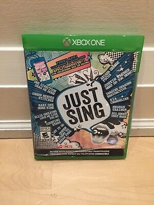 Just Sing (Microsoft Xbox One, 2016) sealed in original package