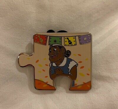 Disney Parks Coco Puzzle Pin Abuelita LE 900 Character Connection Mystery Pixar
