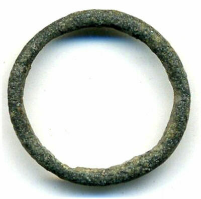 Authentic (18 mm) bronze Ancient Celtic ring money, 800-500 BC, Danube Area