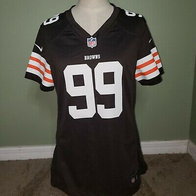 WOMENS CLEVELAND BROWNS Joe Thomas Football Jersey Medium NFL Nice  for cheap