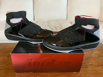 best sneakers cd3b9 09f98 Air Jordan XX 20 Black Stealth Varsity Red DEADSTOCK 2005