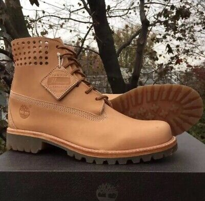 """9 NEW TIMBERLAND® X HORWEEN PREMIUM 3-EYE BOAT SHOE /""""BARE NAKED/""""  US 7"""