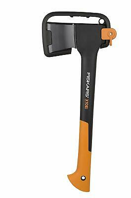 Fiskars Chopping Axe S X10, Storage And Carrying Case Included, Length: 44 Cm,