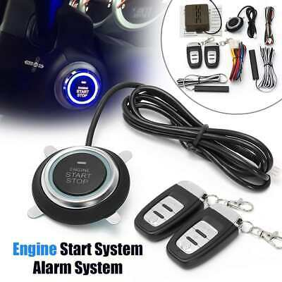 SUV Engine Start Stop Keyless Entry Engine Start Alarm Remote Starter Stop Auto