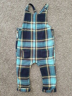 NEXT Baby Boy Winter Overalls Size 12-18 Mths