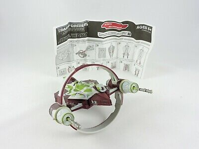 Kit Fisto to Jedi Starfighter STAR WARS / TRANSFORMERS Crossovers COMPLETE 2009