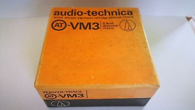 As New Audio-Technica AT-VM3 MM Cartridge.