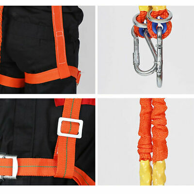 CN_ Polyamide Alloy Letter Full Body Safety Work Harness Fall Arrest Personal