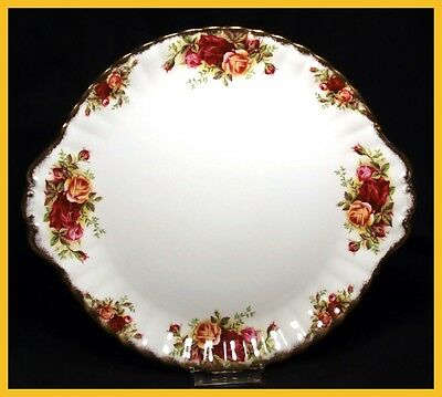 Royal Albert Old Country Roses 10 1/4 Inch Cake Plates - 1st Quality - Excellent