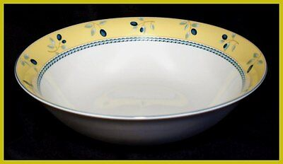 Royal Doulton Blueberry Large 9 Inch Pasta Bowls - NEW
