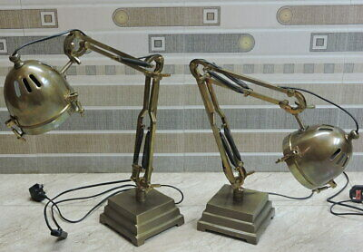 """24"""" in.LED Piano Desk lamp Antique brown Finish SET OF 2"""