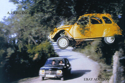 Citroen 2CV action photo 007 For Your Eyes Only – Peugeot 504 photograph
