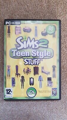 The Sims 2 Teen Style Stuff Expansion Pack PC CD-ROM EA 12+