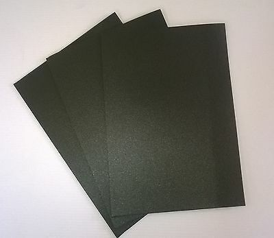 10 A4 black foam sheets- Adhesive backed one side - 3mm thick