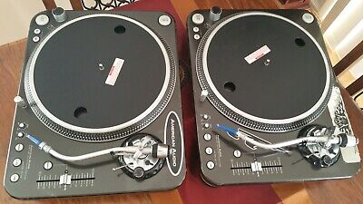 American Audio HTD 4.5 - Super High Torque - Proffessional DJ Turntables - Used