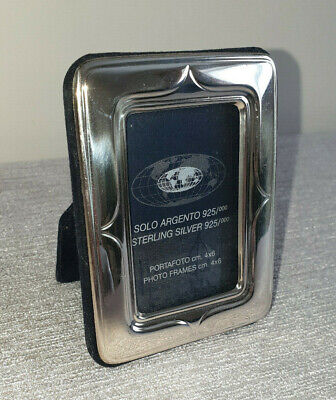 ✿ Small sterling silver Photo frame ✿