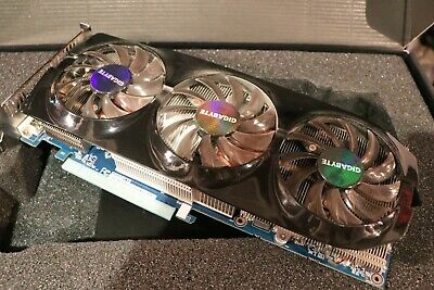 AMD R9 280x Graphics Card Gigabyte GV-R928XOC-3GD (rev. 1.0)