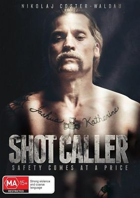 Shot Caller (DVD, 2018), NEW SEALED AUSTRALIAN RELEASE REGION 4