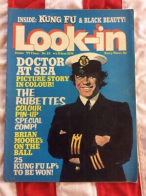Look In Magazine No22 June 1974 Junior TV Times The Rubettes Kung Fu