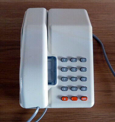 Retro Vintage White BT Viscount phone - fully working - very good condition