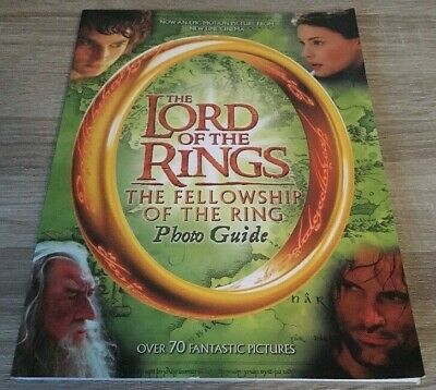 Lotr The Lord Of The Rings The Fellowship Of The Ring Photo Guide Book (2001)