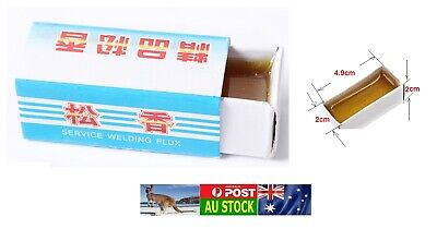 .One small carton of Flux Rosin for Soldering Electric PCB Repair Welding 12G AU