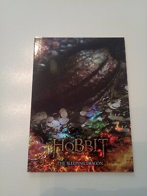 Hobbit Desolation Of Smaug Foil Smaug Chase Card S2
