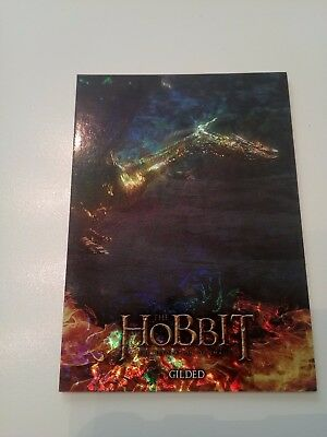 Hobbit Desolation Of Smaug Foil Smaug Chase Card S6
