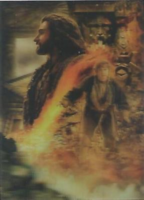 "The Hobbit Desolation of Smaug - ""Lenticular Poster"" Chase Card #KA-07"