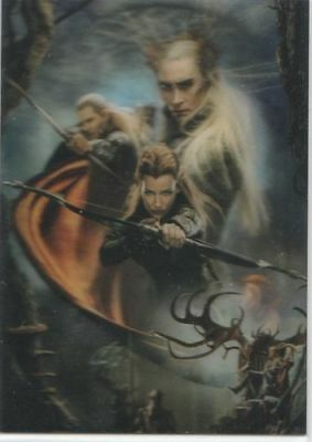 "The Hobbit Desolation of Smaug - ""Lenticular Poster"" Chase Card #KA-05"