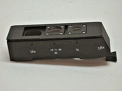 Zeiss Magnification changer (Optovar) for Axioskop, PN 451490,excellent cond.