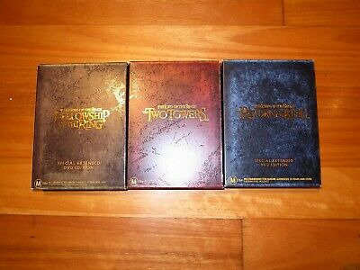 The Lord Of The Rings Trilogy - Special Extended Dvd Editions