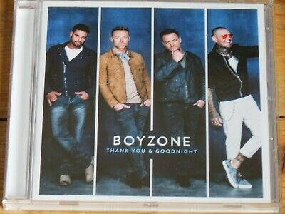 BOYZONE Thank You and Goodnight (2018 CD)