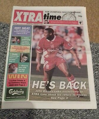 373) Xtra time LFC newspaper  issue 12