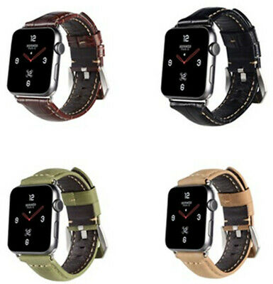 Paneraii Genuine Leather Watch Band Strap For Apple iwatch Series 4/3 40MM 44MM