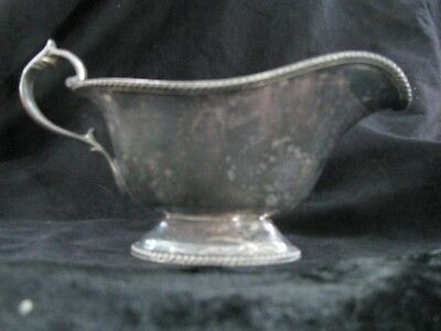 Gravy Boat Lawrence B. Smith & Co Vintage E.p.n.s.