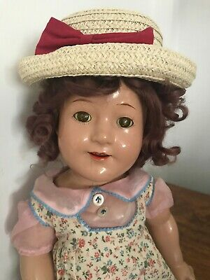 Antique Jane Withers Madame Alexander Composition Doll