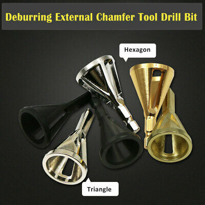 Deburring External Chamfer Tools Stainless Steel Remove Burr Tool for Drill Bit